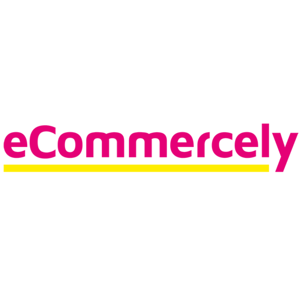 eCommercely logo pinkgelb 600px 1